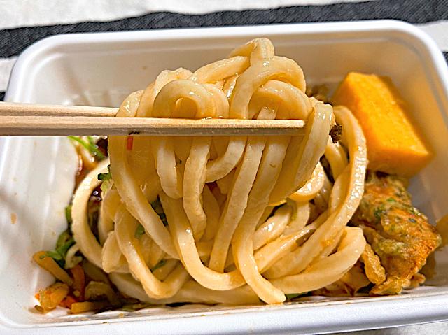 丸亀製麺 武蔵境店のテイクアウトうどん2