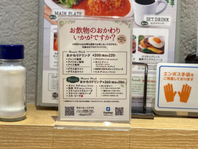 むさしの森珈琲 武蔵野西久保店のコーヒー