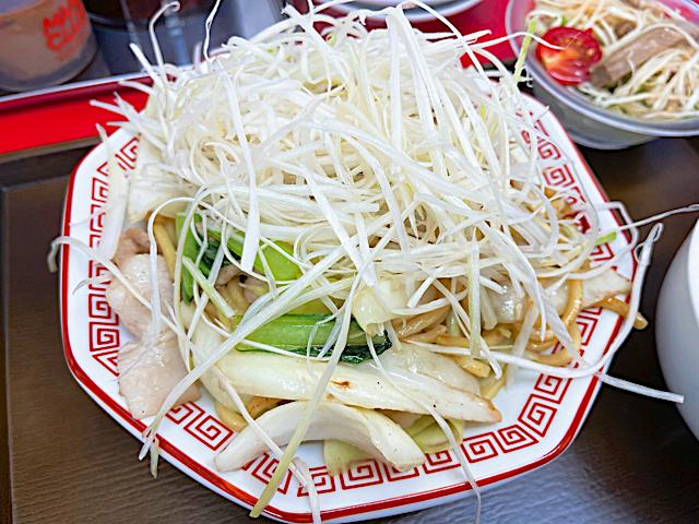 大阪王将 武蔵野緑町店のランチ2