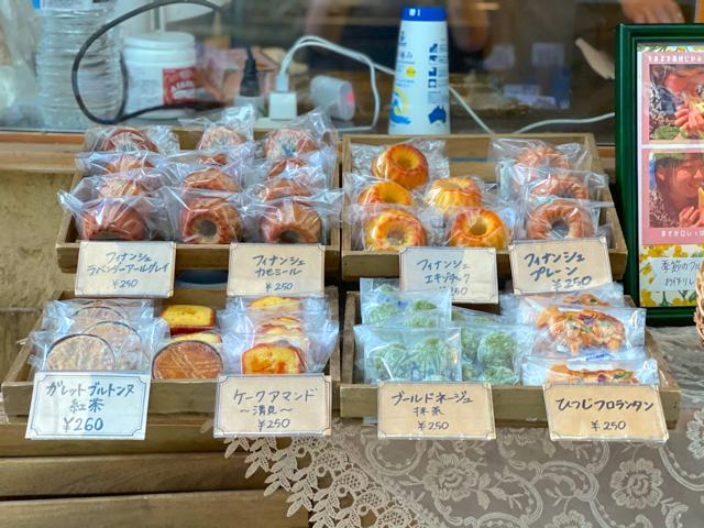 ひつじ組の焼き菓子