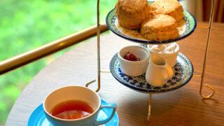 吉祥寺のムレスナティー東京のスコーンと紅茶2
