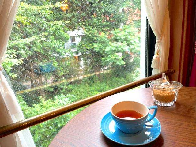 吉祥寺のムレスナティー東京のスコーンと紅茶6