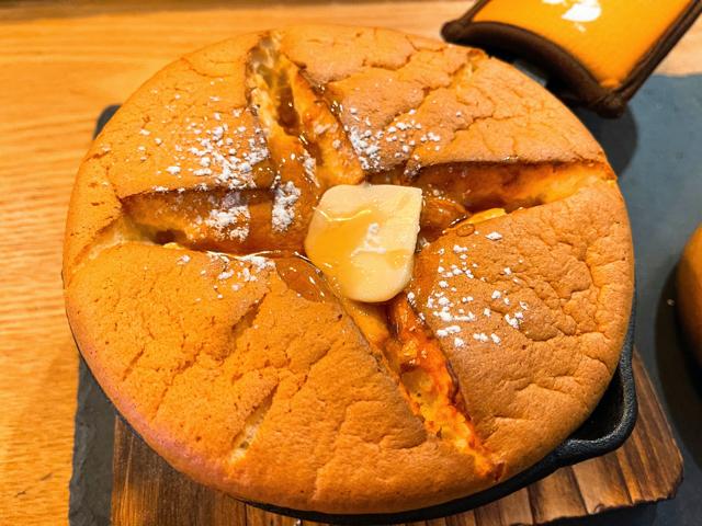 西荻窪「しんこぺ」のホットケーキ2