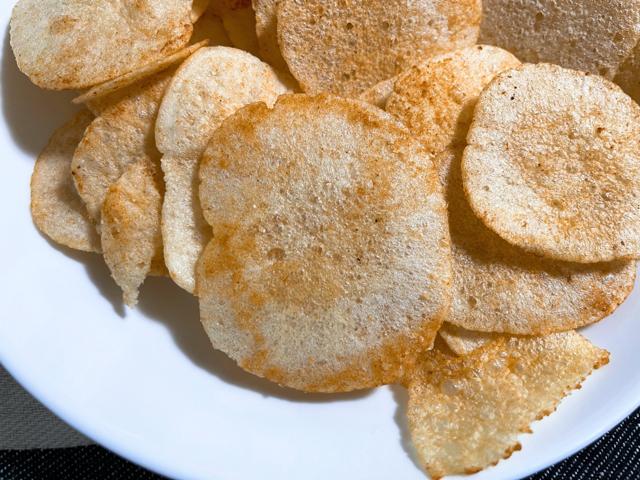 テラフーズの「カロリーを気にせず食べられるポテトチップス」5