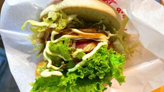 モスバーガー プラントベースのハンバーガー「グリーンバーガー<テリヤキ>」2