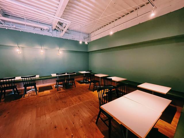 西荻窪「nof coffee(ノフコーヒー)」の店内