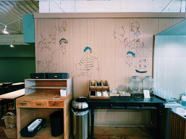 西荻窪「nof coffee(ノフコーヒー)」の店内3